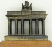 Brandenburg Gate Berlin Bronze