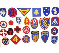 Group of US Military Patches