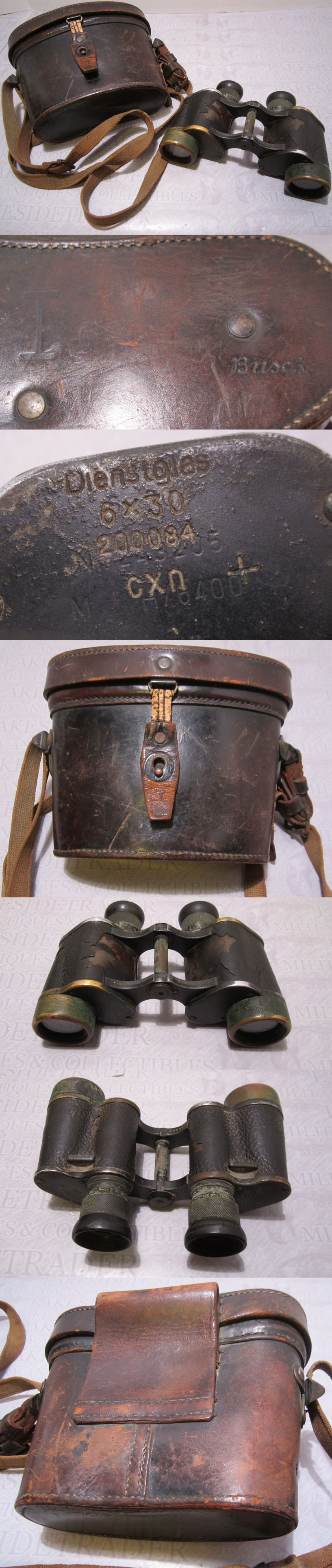 Power Binoculars and Case