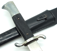 Long Fireman's Sawback Dress Bayonet by WKC