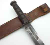 U.S. WWII USMC Mark 2 KA-BAR Fighting/Utility  Knife