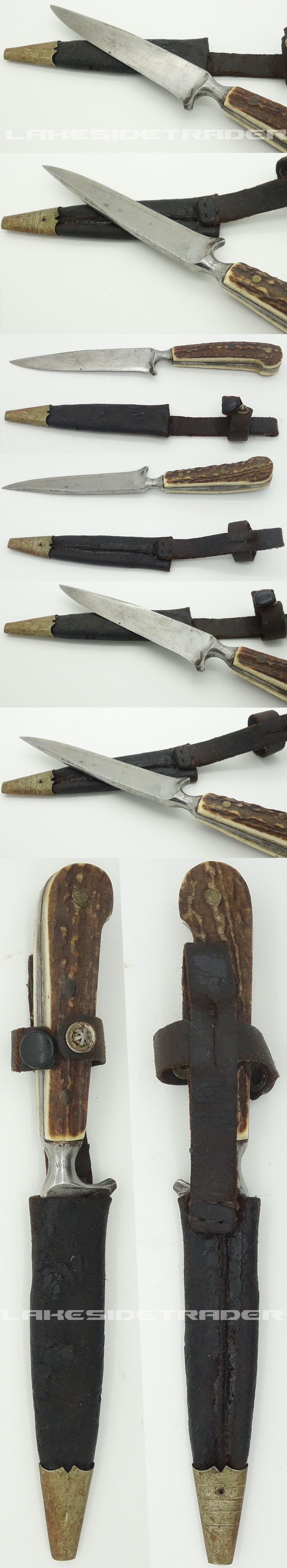 Stag Grip Private Purchase Knife