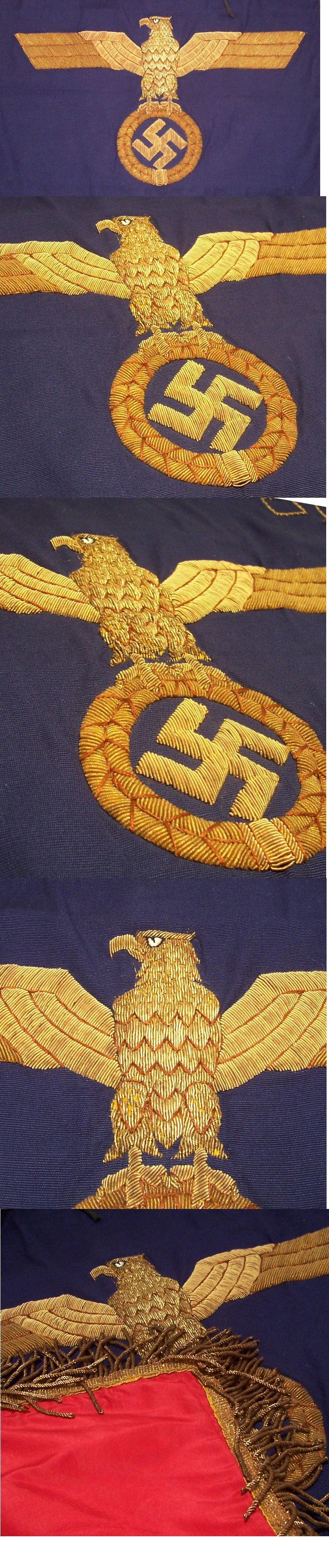 Killer Navy Trumpet Banner