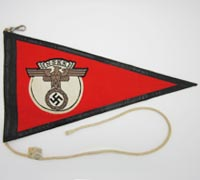 Tagged NSKK Vehicle ID Pennant