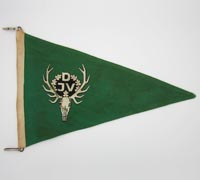 DJV Hunting Vehicle ID Pennant