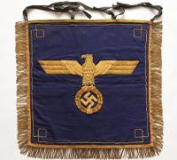 Navy Trumpet Banner