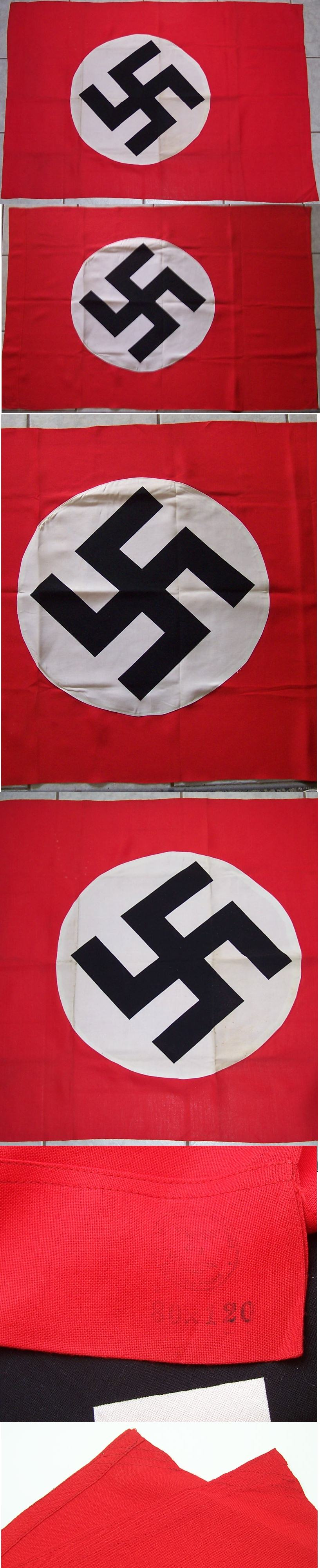 Quality marked NSDAP Flag