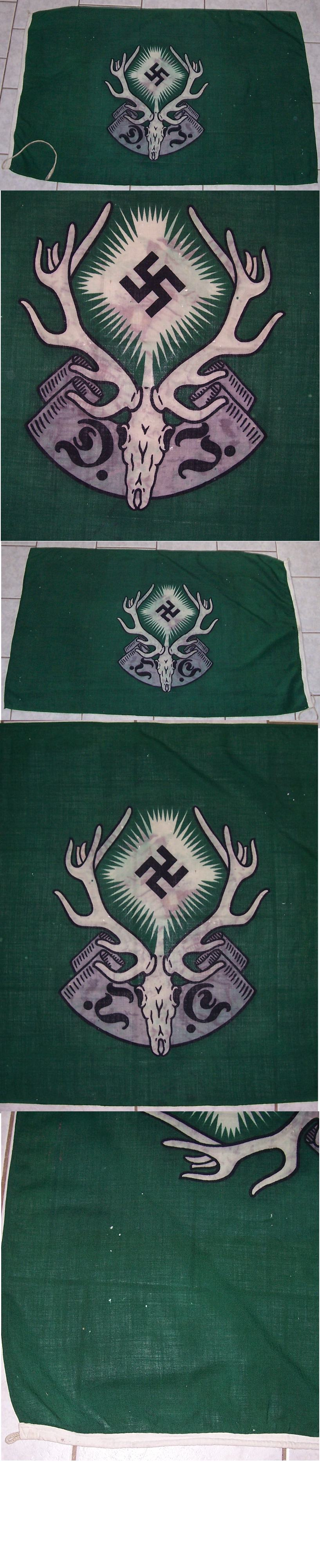 DJ German Hunting Association Flag