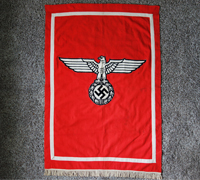 Early NSDAP Podium Banner