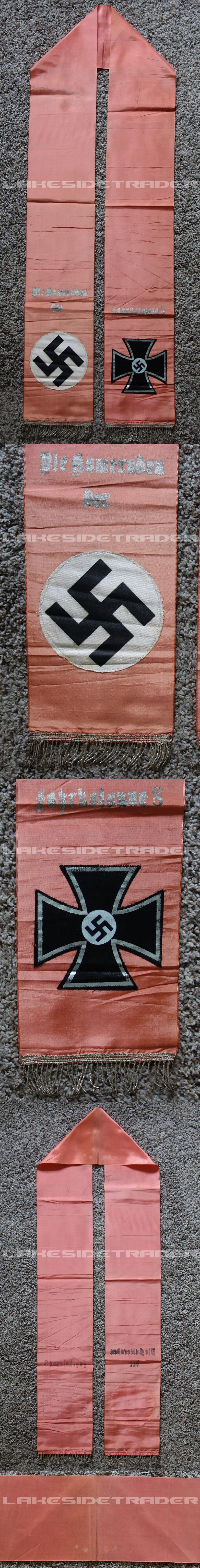 NSDAP Funeral Sash