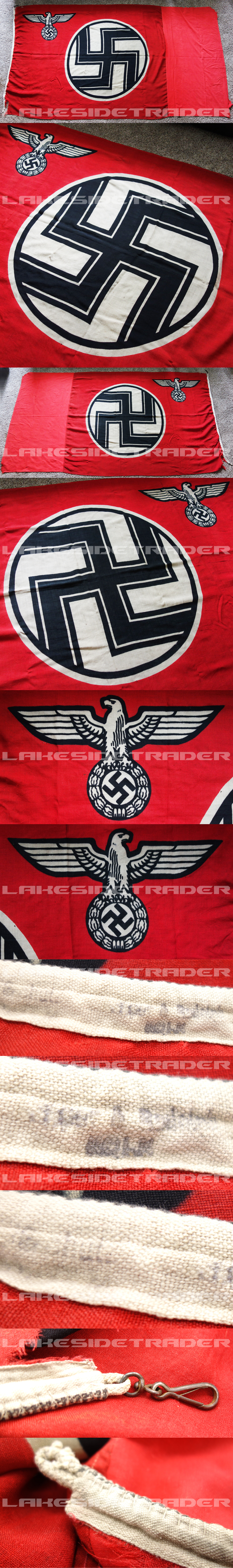 Large State Service Flag by Küpper & Rudolph