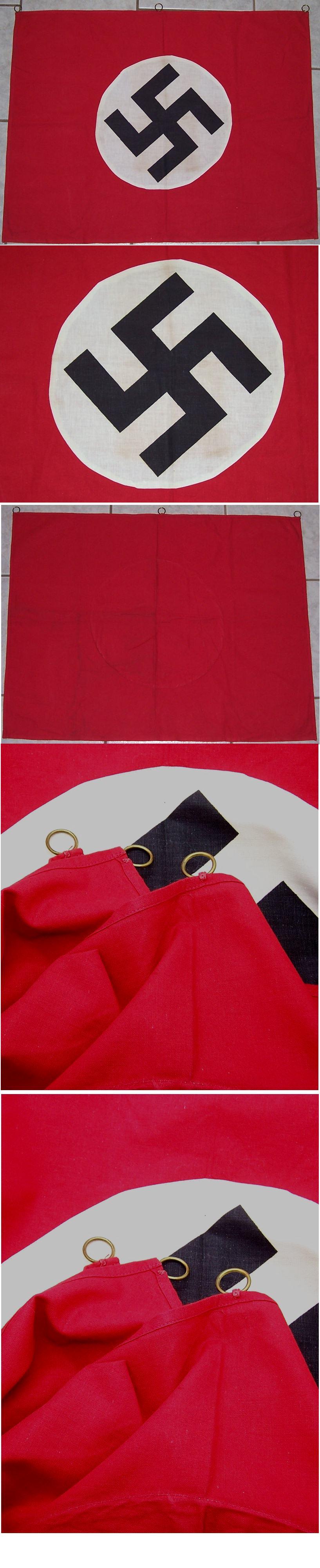 NSDAP Podium Banner/Flag
