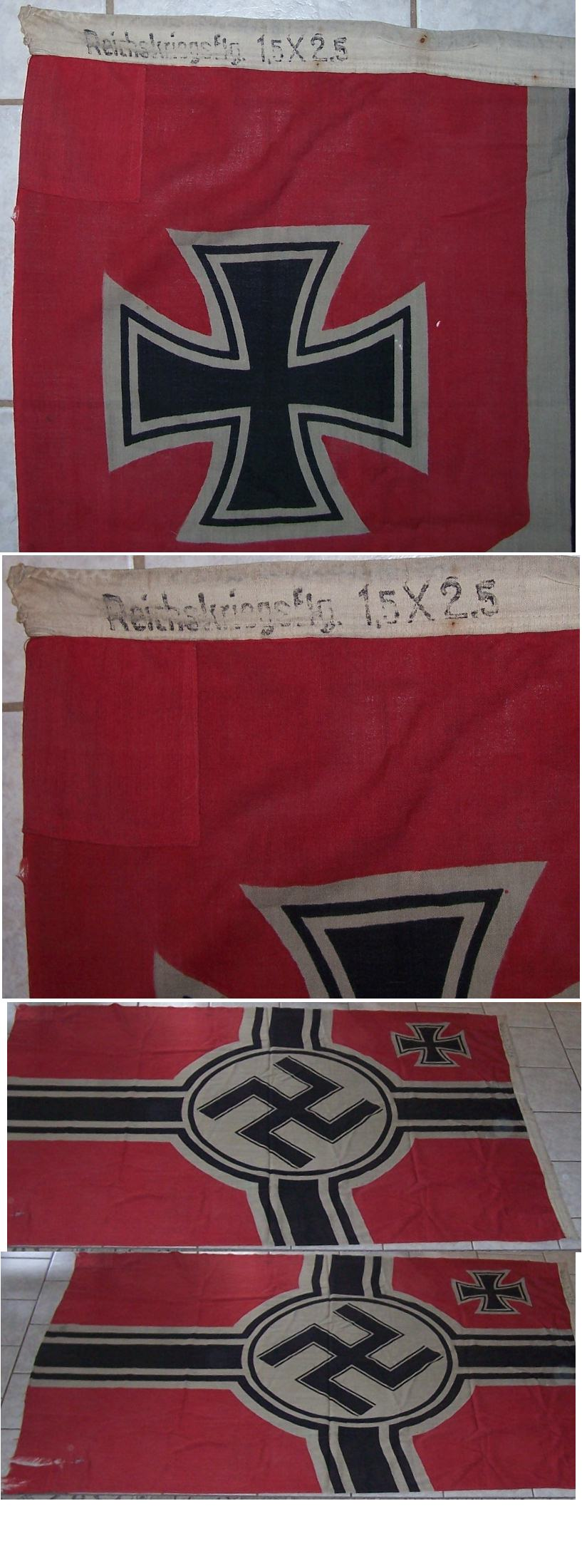 National War Flag 150 x 250
