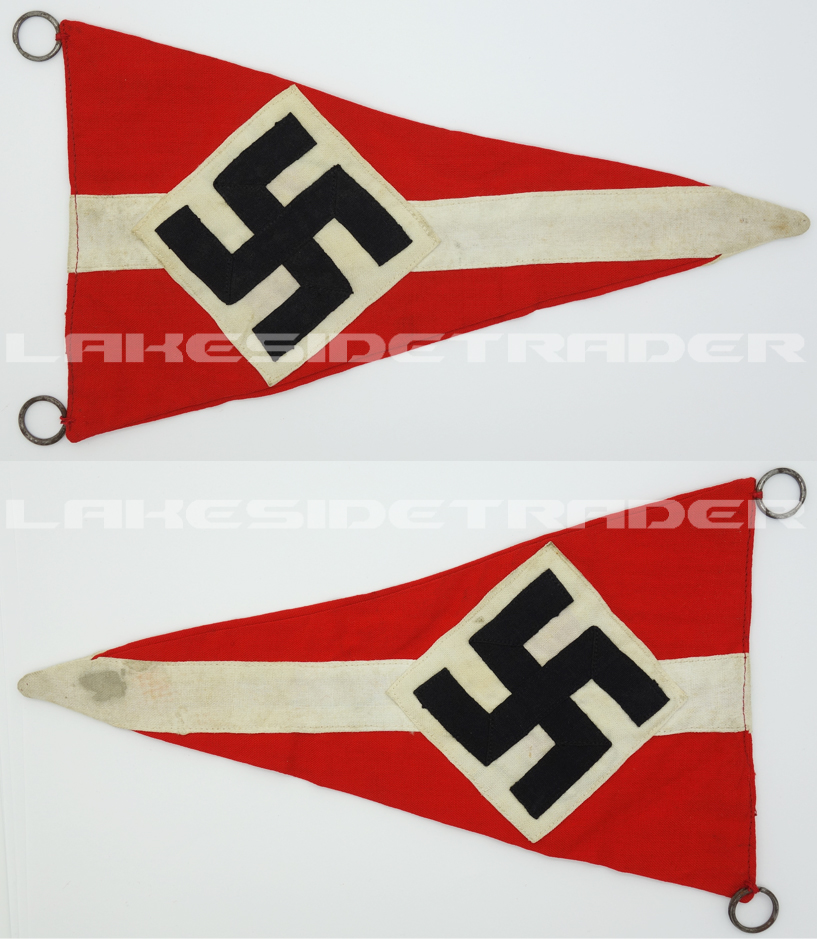 Hitler Youth Rally Pennant