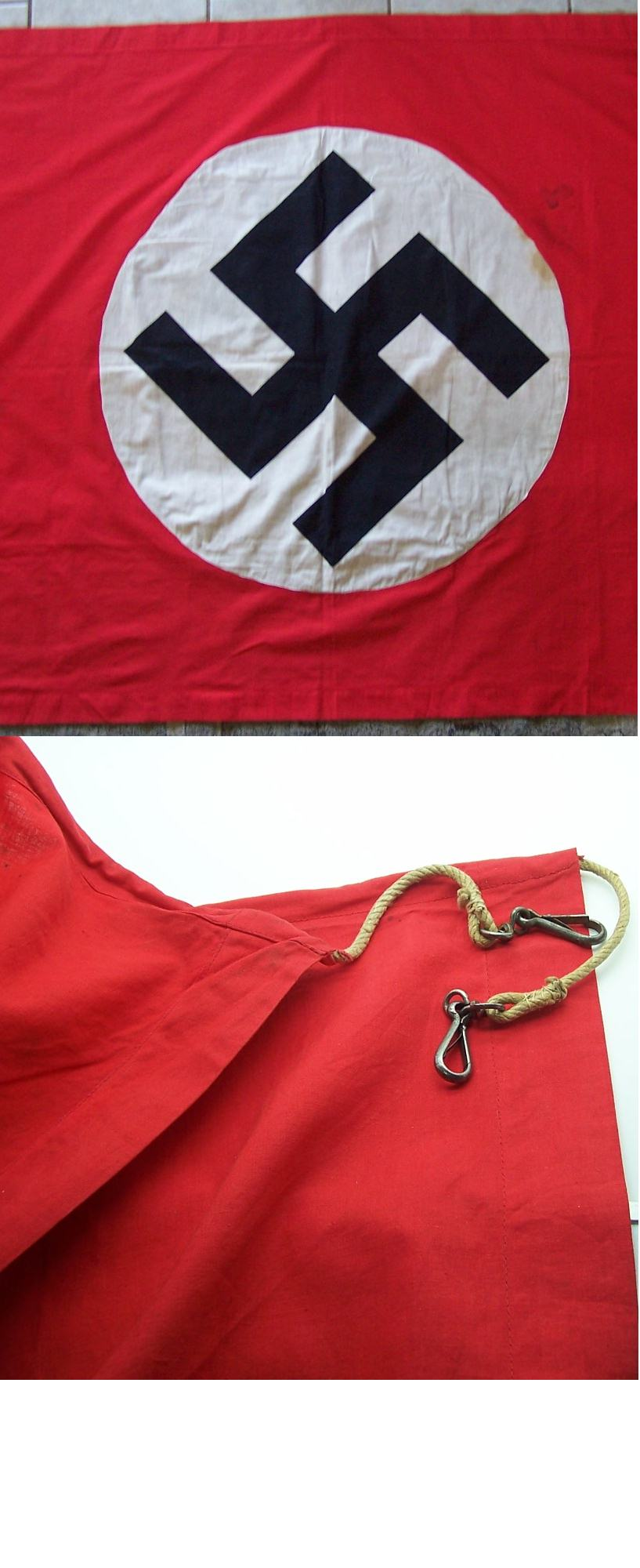 Medium NSDAP two sided Banner/Flag