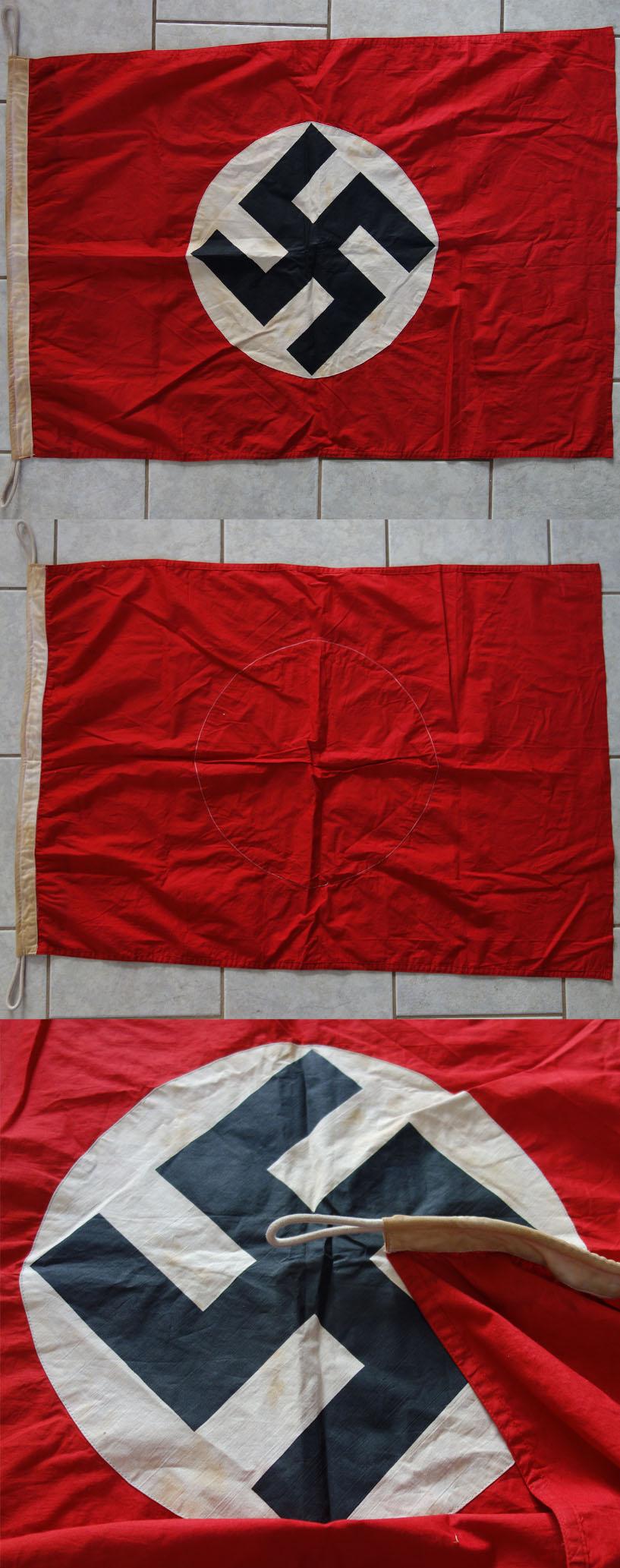 Reinactors Party Flag