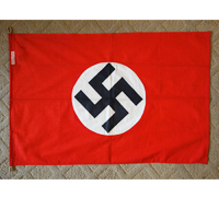 SS Stamped - NSDAP Flag by Arfelstedt & Hornung