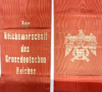 Atributted Funeral Sash Reichsmarschall des Großdeutschen Reiches