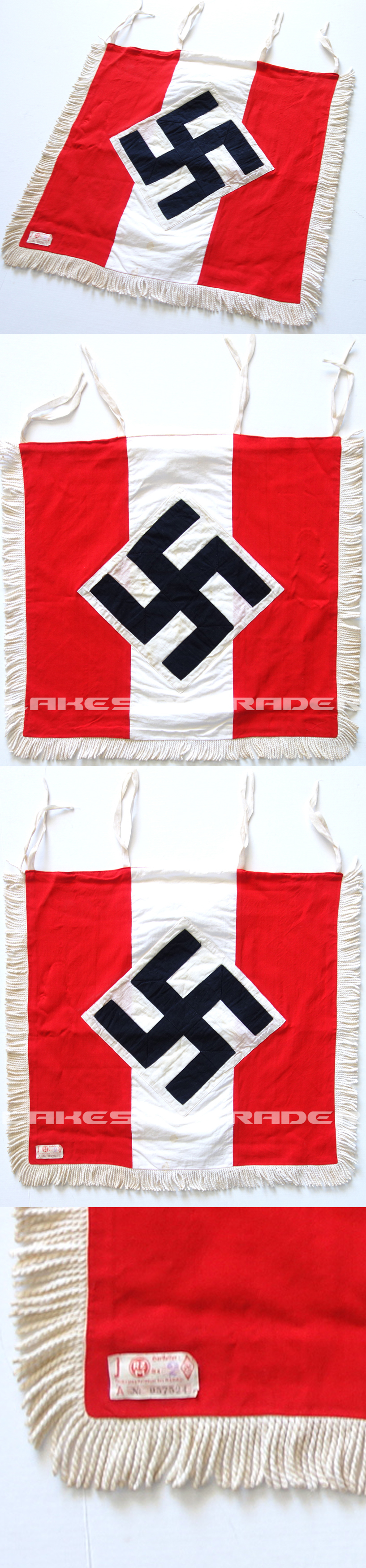 HJ Trumpet Banner with RZM tag
