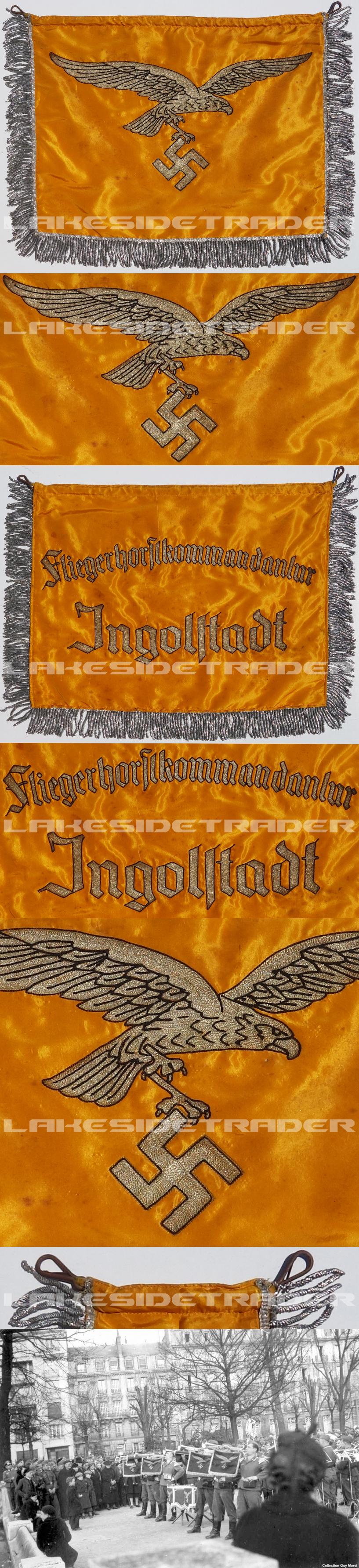 "Luftwaffe ""Ingolstadt"" Trumpet Banner"
