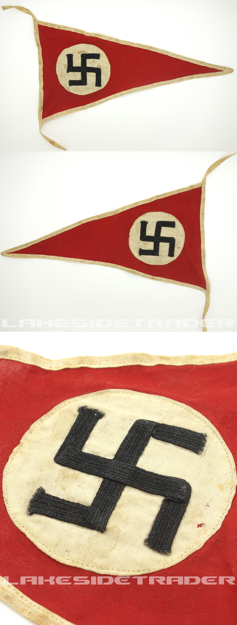 Early NSDAP Party Pennant