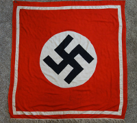 Large NSDAP Podium Banner