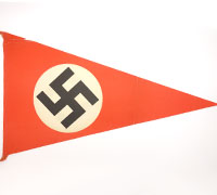 Paper NSDAP Pennant