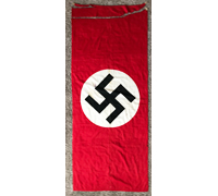 Tagged – NSDAP Medium Banner by Otto Muller