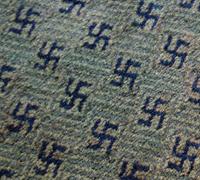 1920's - Swastika Rug by Hartford Saxony