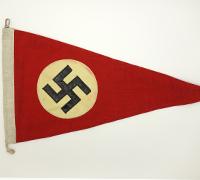 NSDAP Car Pennant