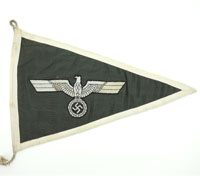 Army Remaining Members Vehicle ID Pennant