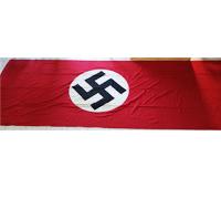 Large unit signed NSDAP Street Banner