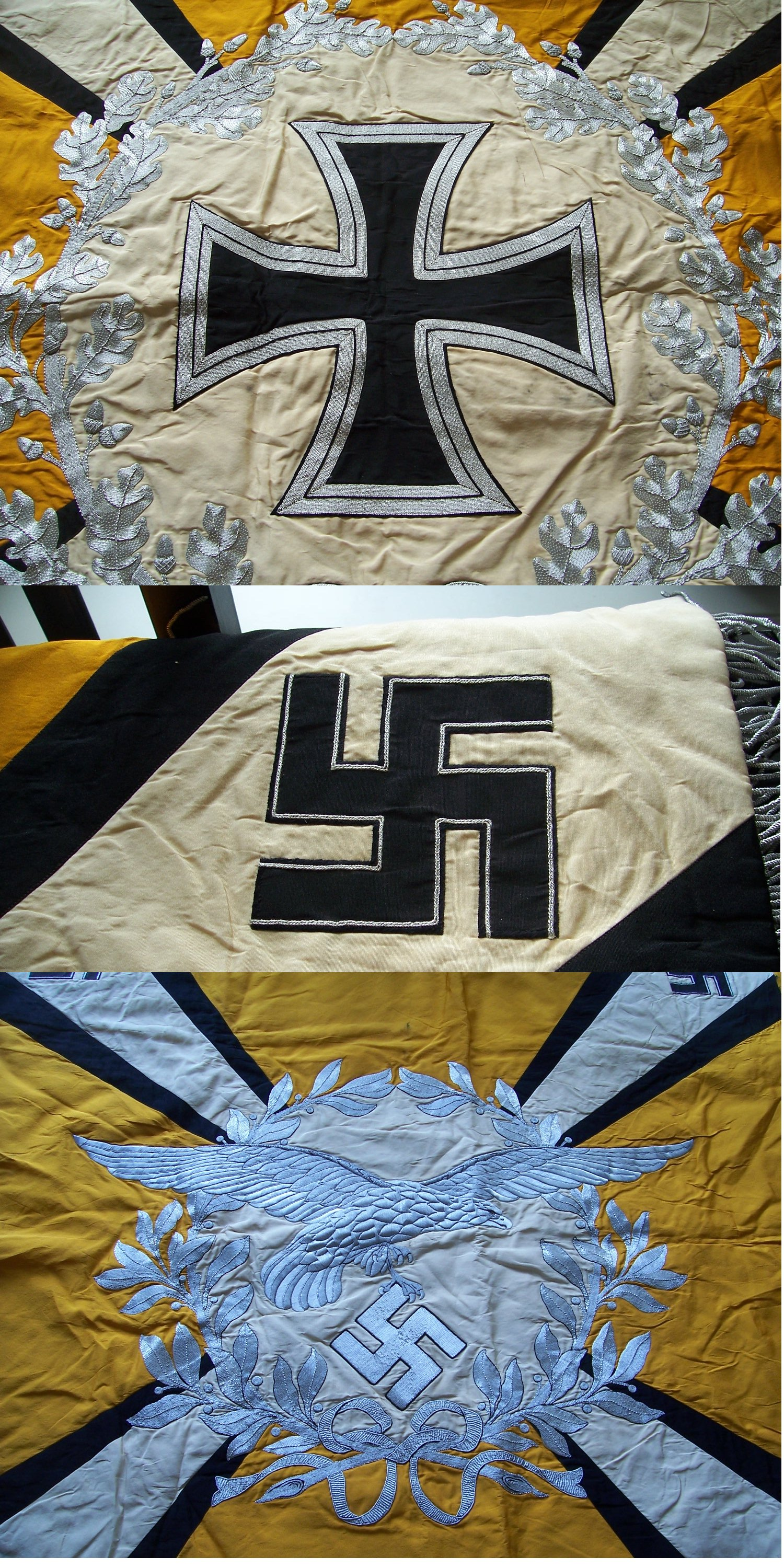 Luftwaffe Regimental Standarte for a Flying Unit