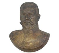 Hindenburg Bronze Plaque