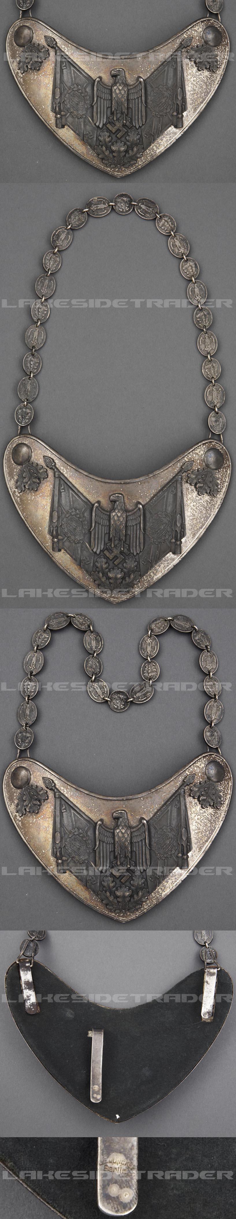 Army Standard Bearer Gorget