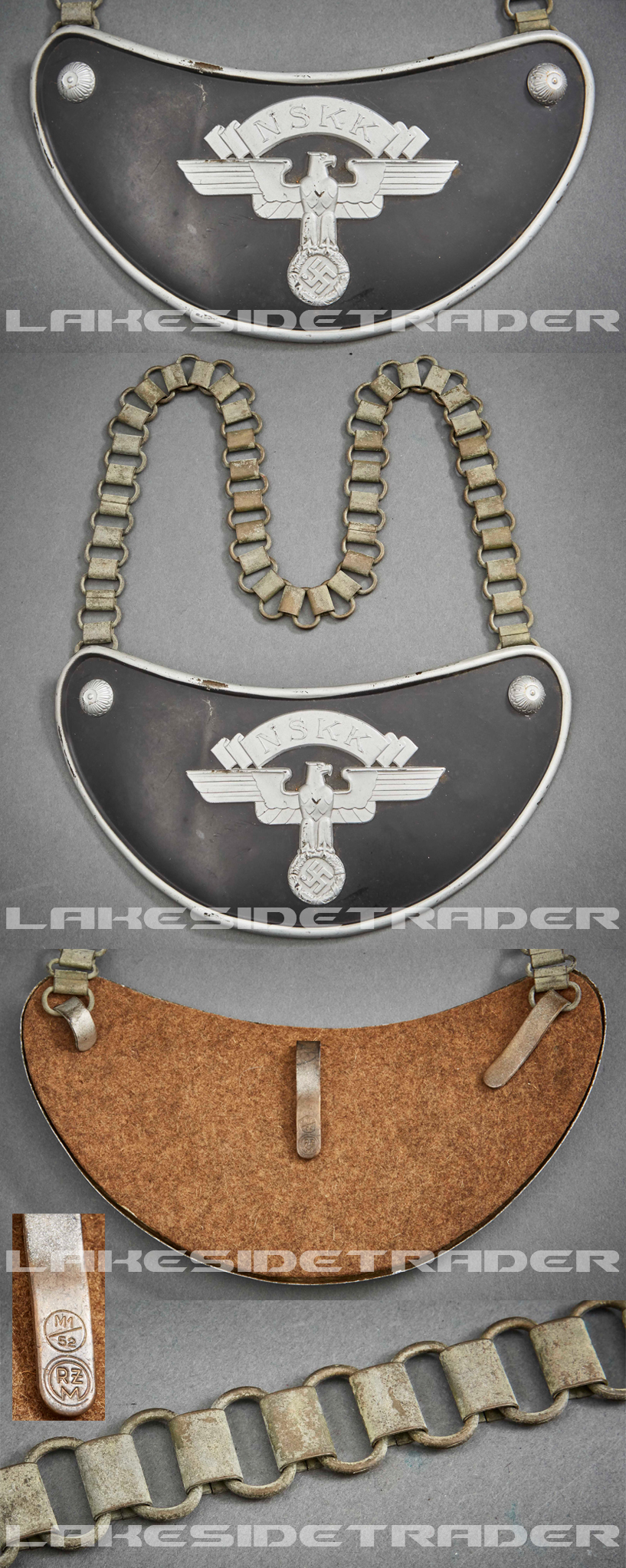A Gorget Model 1938 for Honor Guards of the NSKK