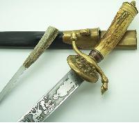 Imperial Era Hunting Dagger by JV Garantiert