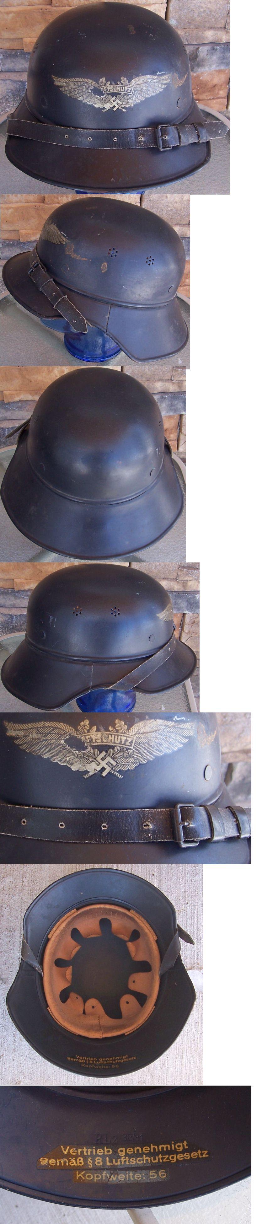 M38 Luftschutz Helmet