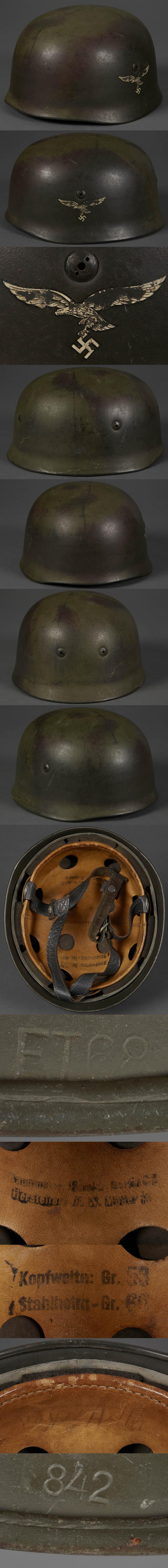 M38 Paratrooper SD Camouflage Helmet