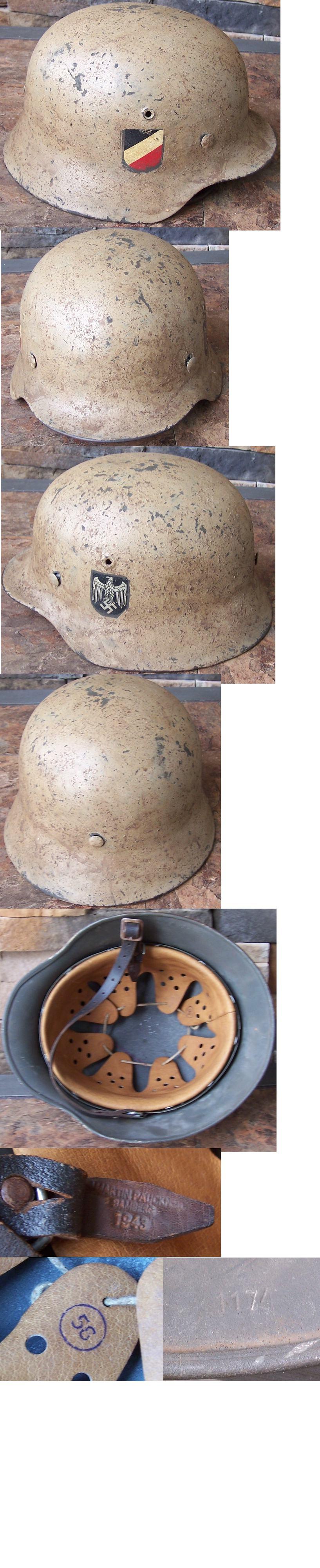 M40 Army DD Helmet by Quist