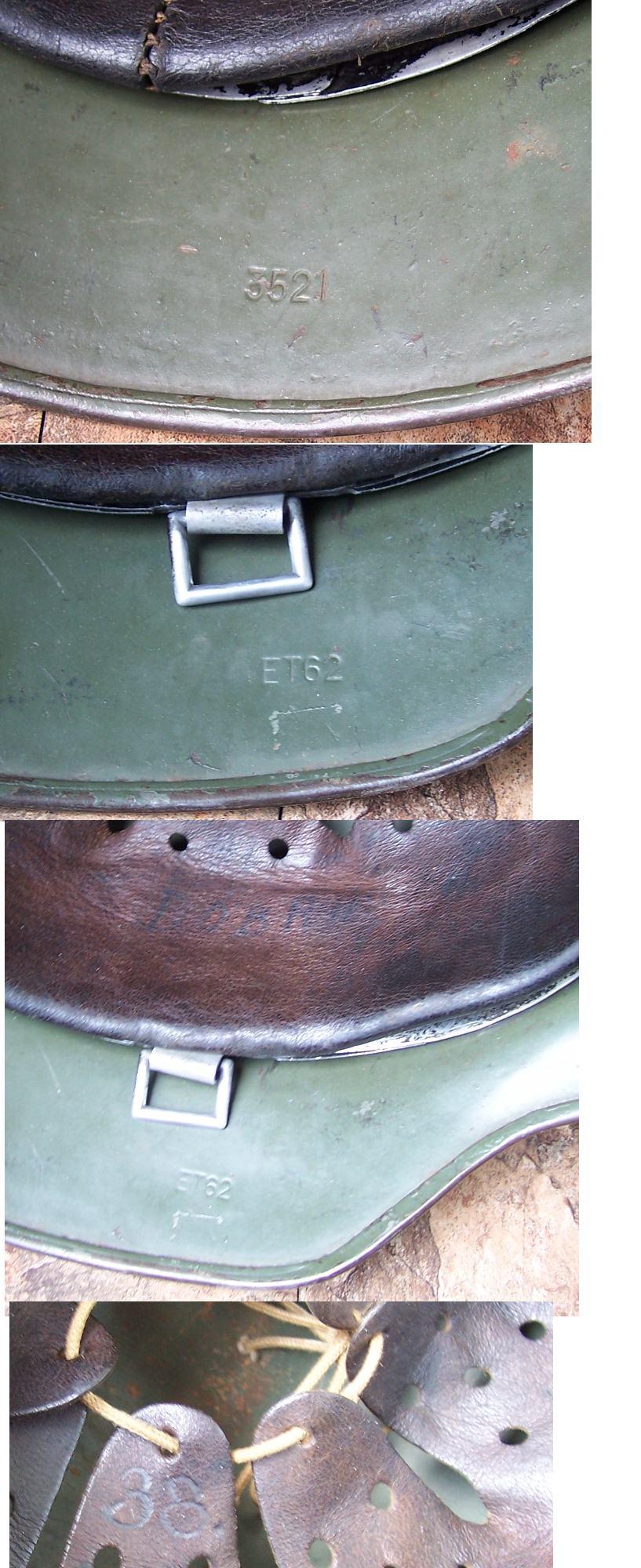 M35 SD ET-62 Army Helmet