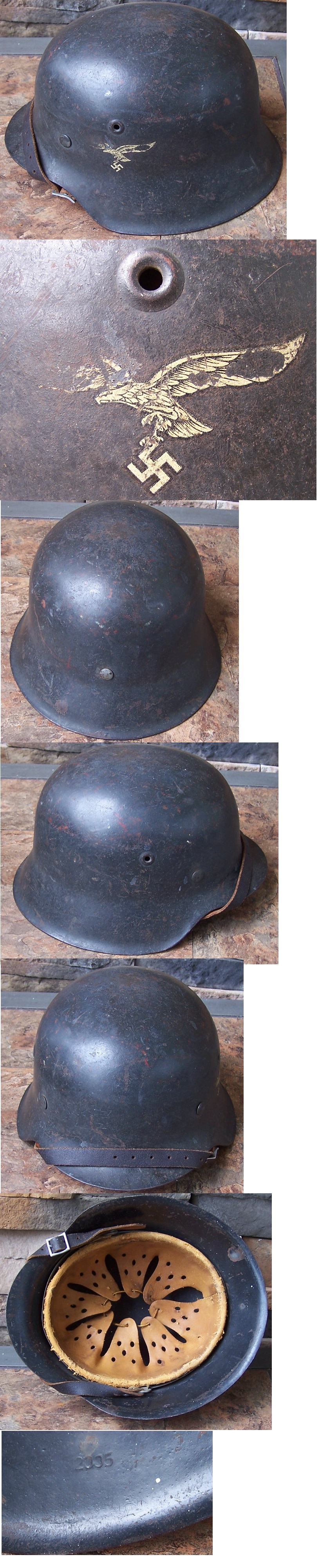 M42 SD Luftwaffe Helmet by ET64