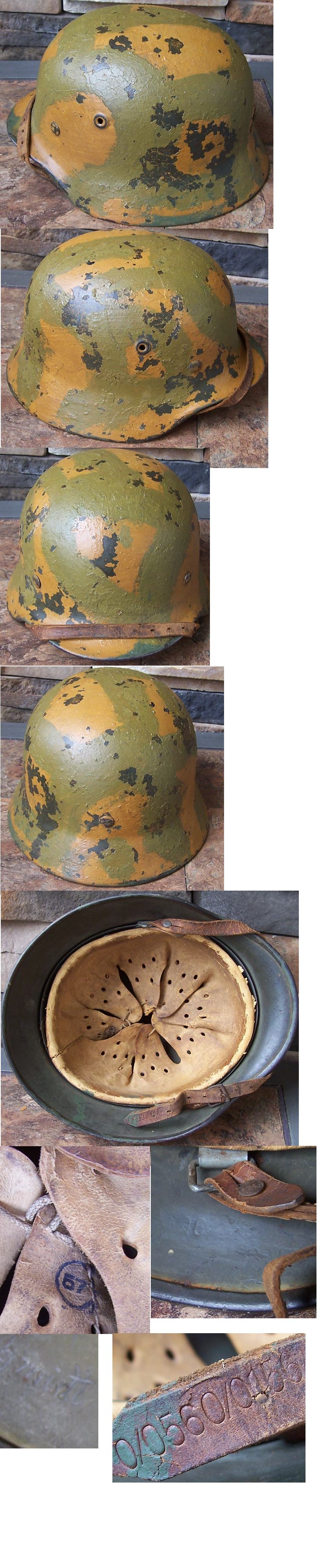 M40 Army Camo Helmet by Q64