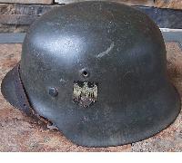 DeNazified ckl-64 M42 SD Helmet