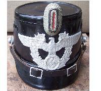 Auxiliary Police (Polizei) NCO's Shako