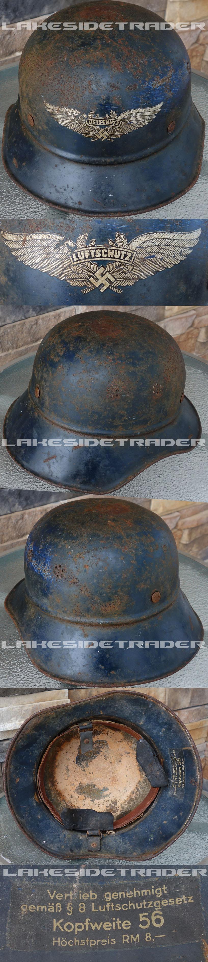 Luftschutz Helmet Shell
