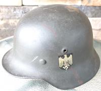 Single Decal M40 Army Helmet by SE-62