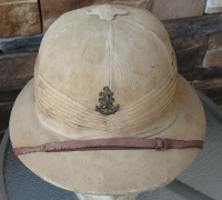 Japanese Navy Officer Pith Helmet
