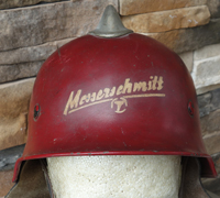 Complete Model 1934 Civic Fireman's Helmet