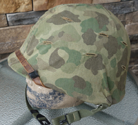US M1 Combat Helmet with USMC Camo cover